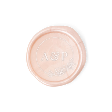 Botanical Monogram Wax Seal