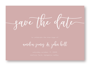 Meadows Save The Date