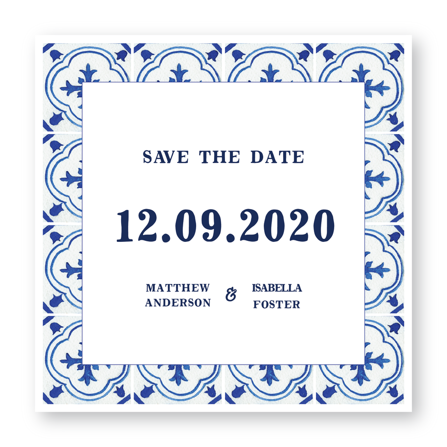 Positano Save The Date