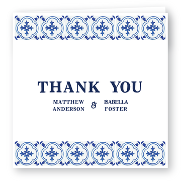 Positano Thank You Card