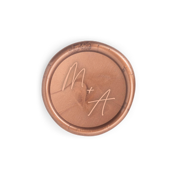 Script Monogram Wax Seal