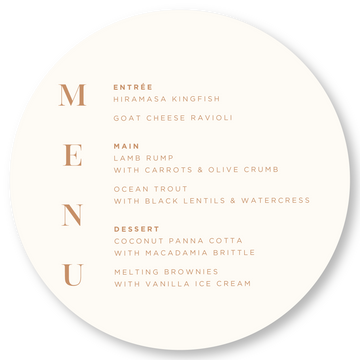 Together Menu