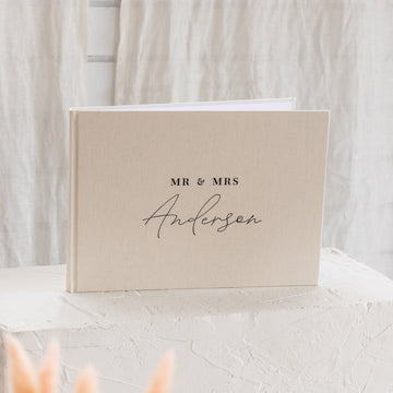 The Anderson Linen Guest Book