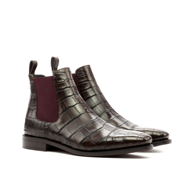 Exotic Goodyear Welted Chelsea Boots Classic