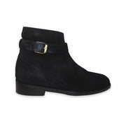 Black Suede Dress Boots Sz. 10