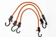 Adjustable 24-Inch Bungee Cords, 3-Pack