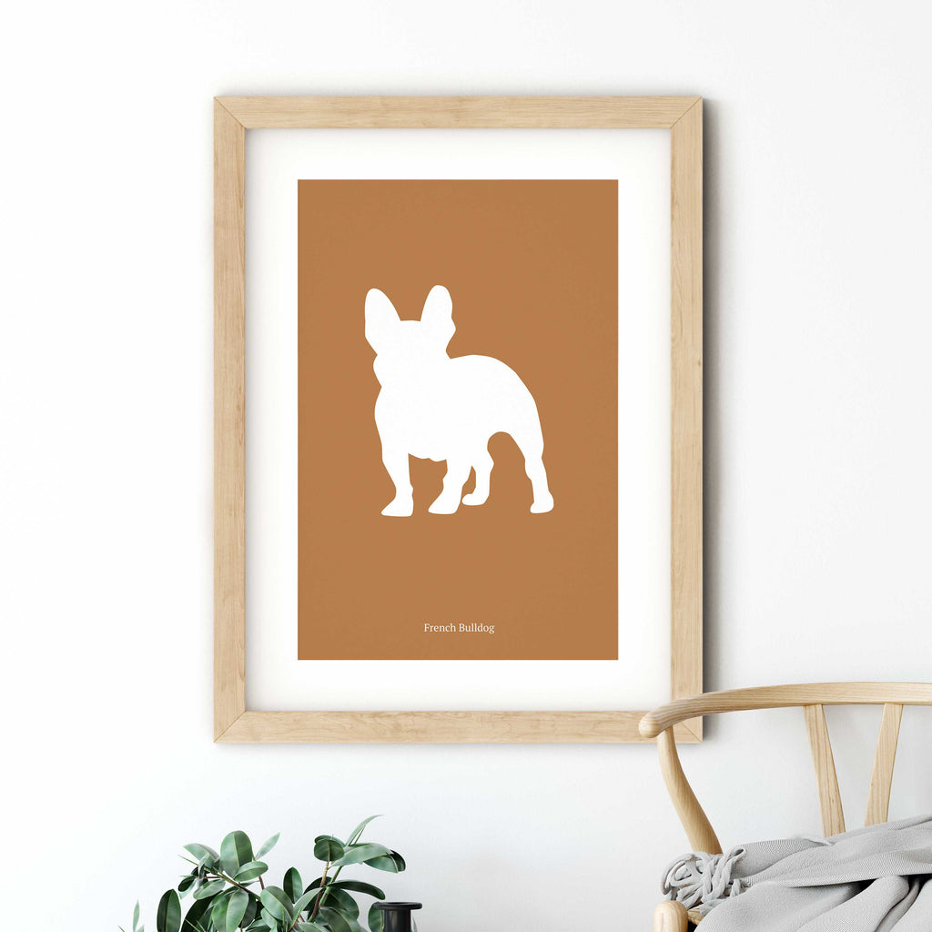 French Bulldog Drawing Poster