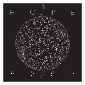 HOPE. Sticker