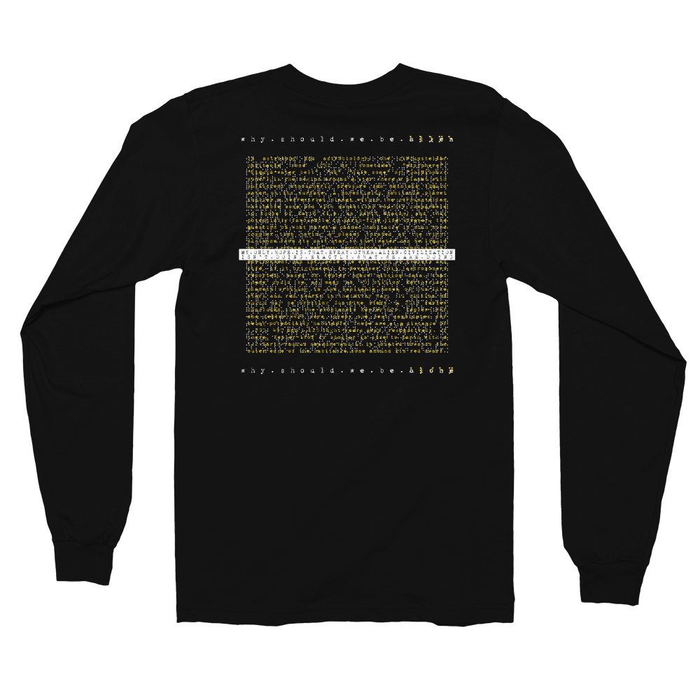ALONE (alien). Long Sleeve