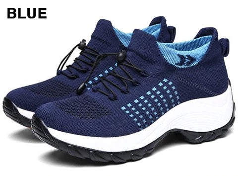 Comfortable Hiking Shoes Blue