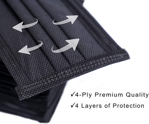 Disposable Ply Safety Face Mask 4 Layers 2