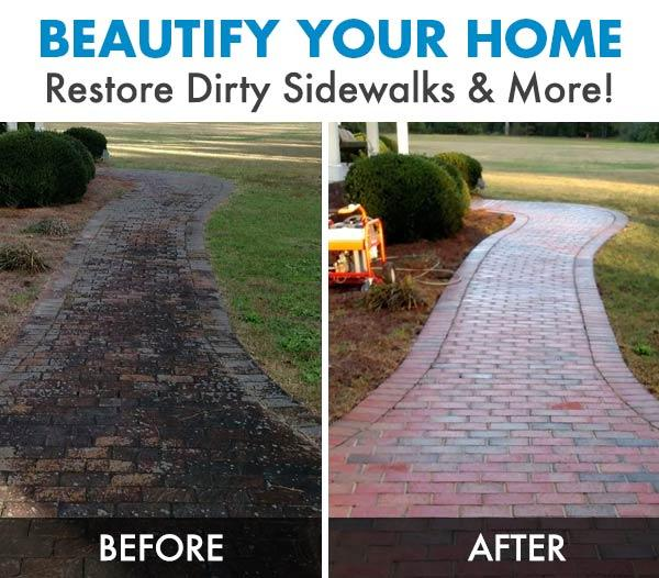High pressure power washer-beautify your home