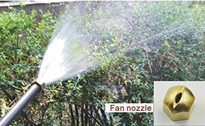 High pressure power washer-fan nozzle