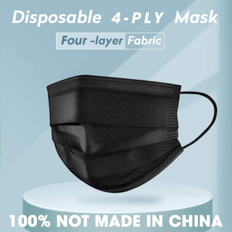 Disposable Ply Safety Face Mask 4 Layers 1