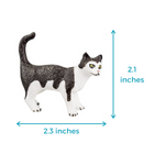 Cat Miniature 1 - Educational Cat Figures Toy Set