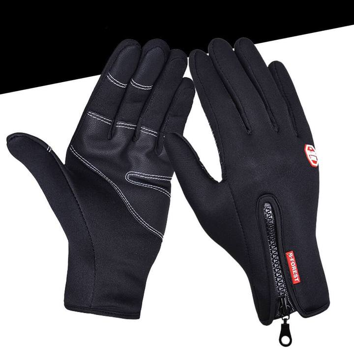 Thermal gloves black