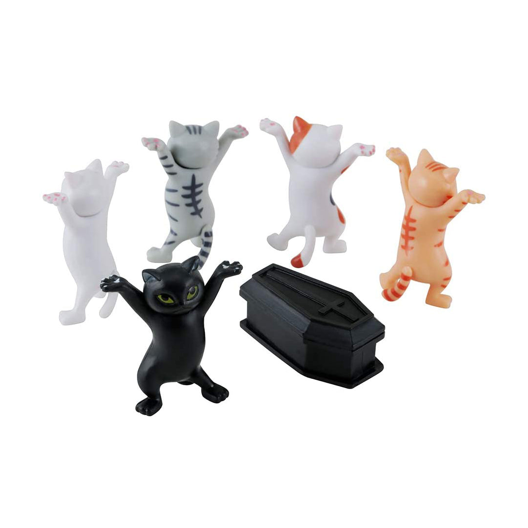 The Coffin Dance Miniature Cats Phone Holder
