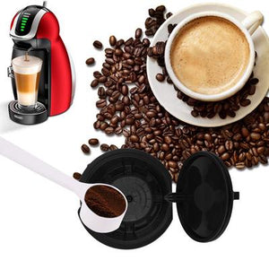 ILC Refillable Reusable Coffee Capsule [3pcs/pack - 150times - Dolce Gusto Compatible]