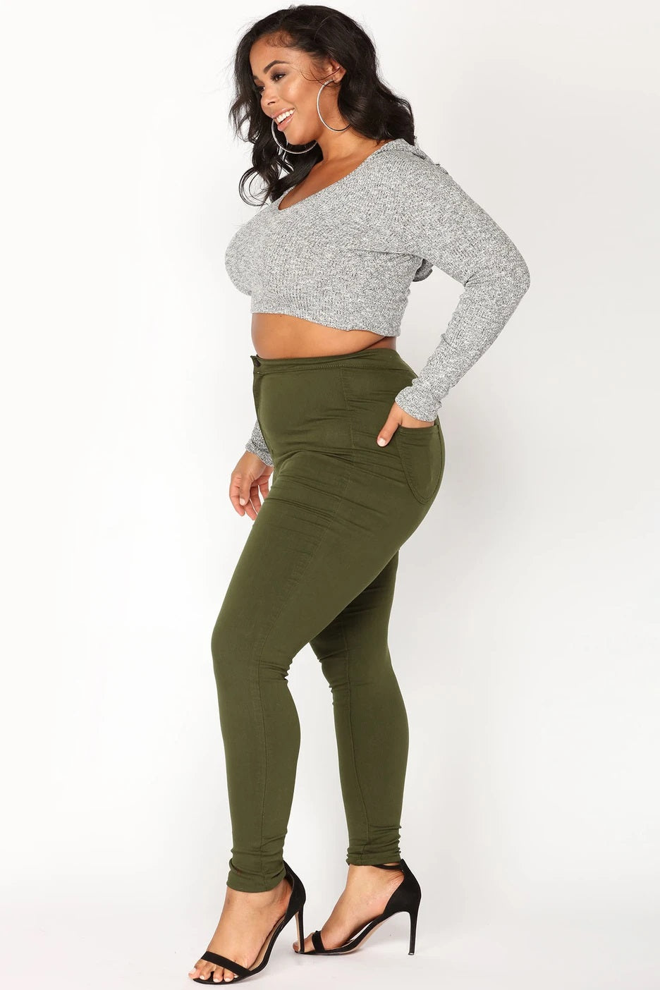 Plus Size Curvy Fit Jeans