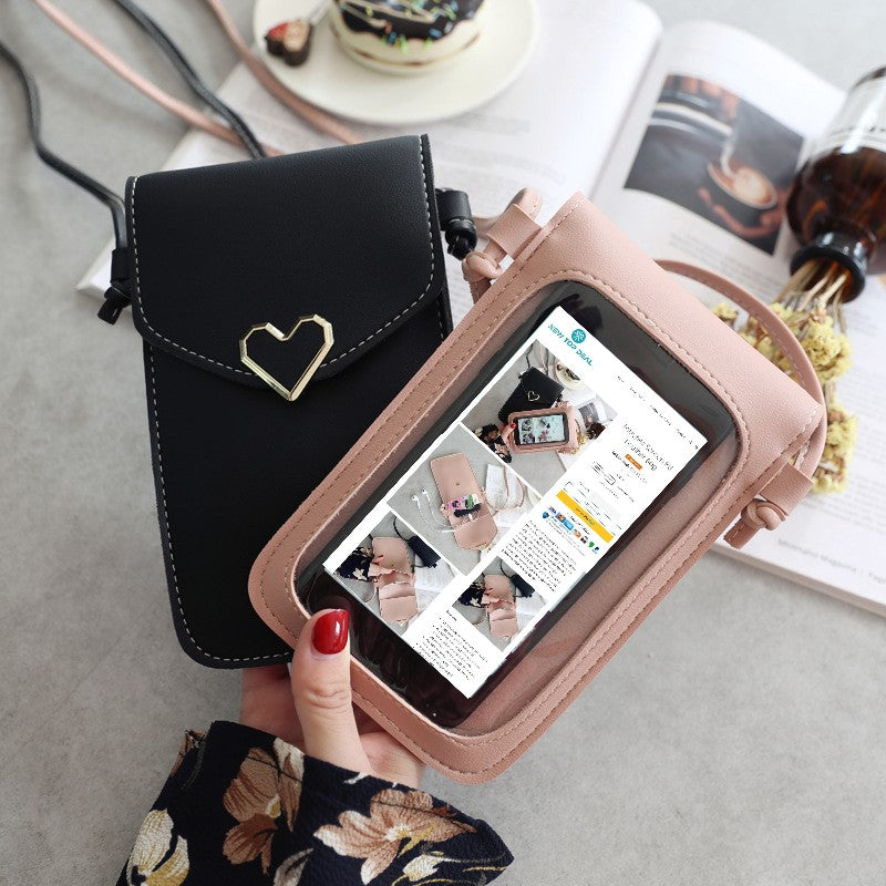 Touche Screen PU Leather Bag
