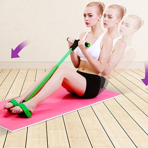 Fitizy™ 4-Tube Pedal Fitness Rope - Rope For Women and Men
