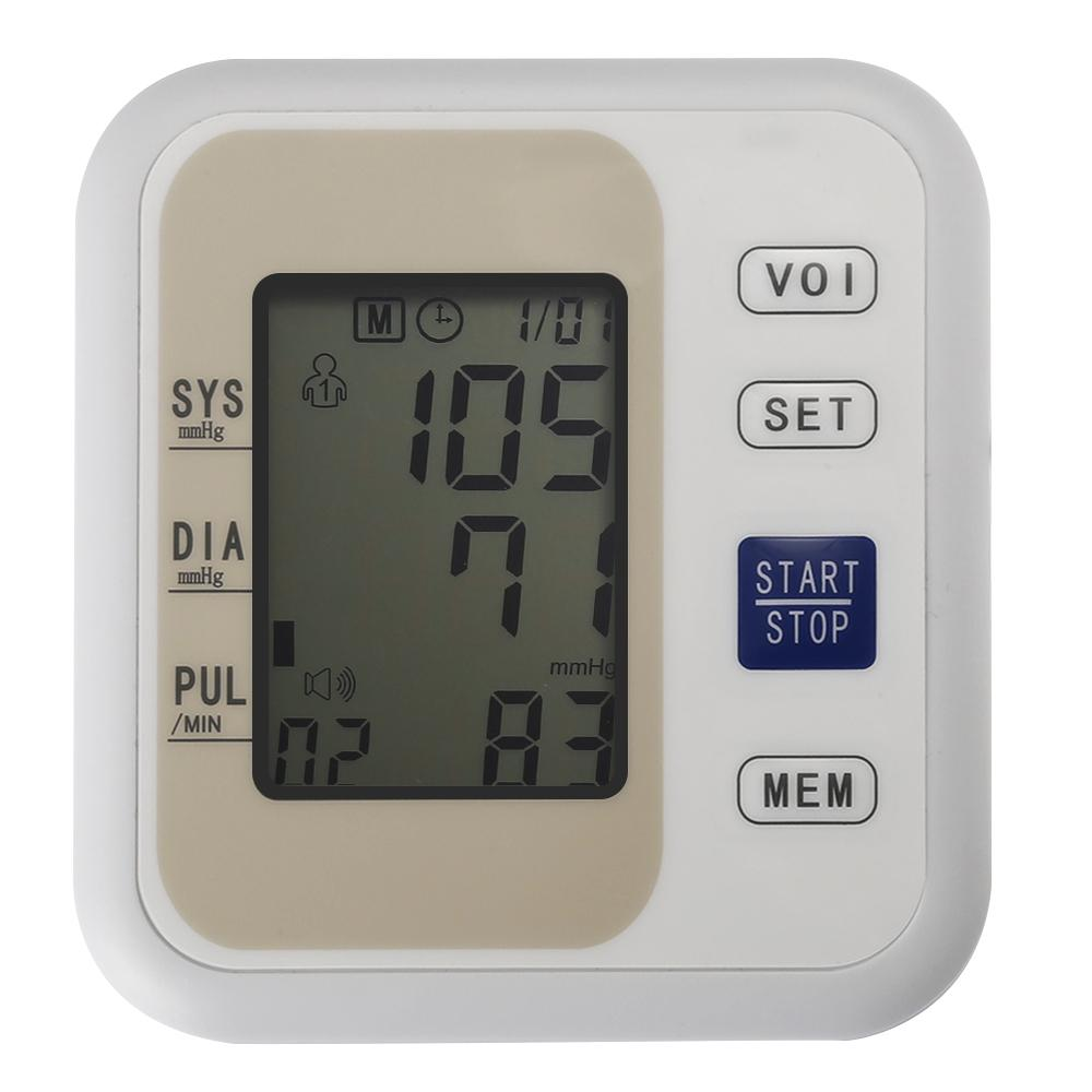 Fast and Accurate Upper Arm Electronic BLOOD PRESSURE MONITOR