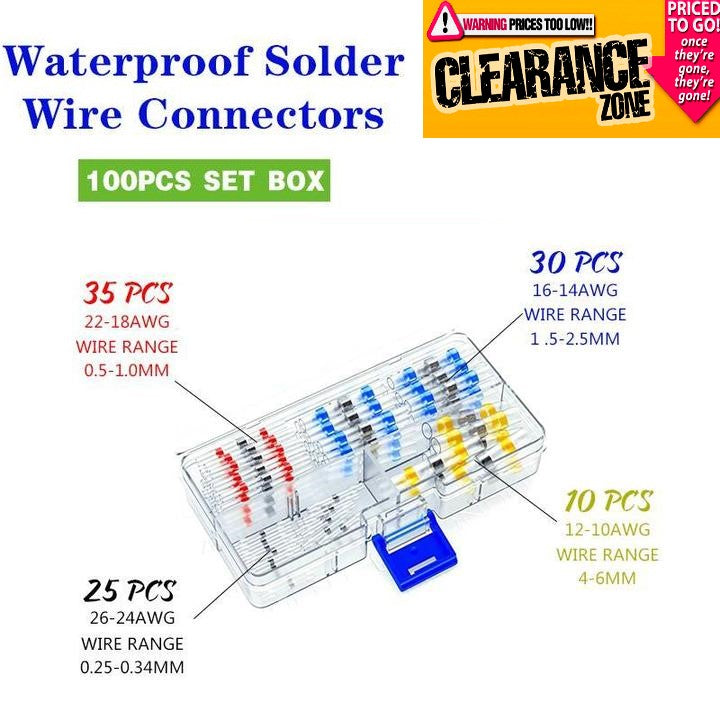 NEC™️ - Waterproof Solder Wire Connectors