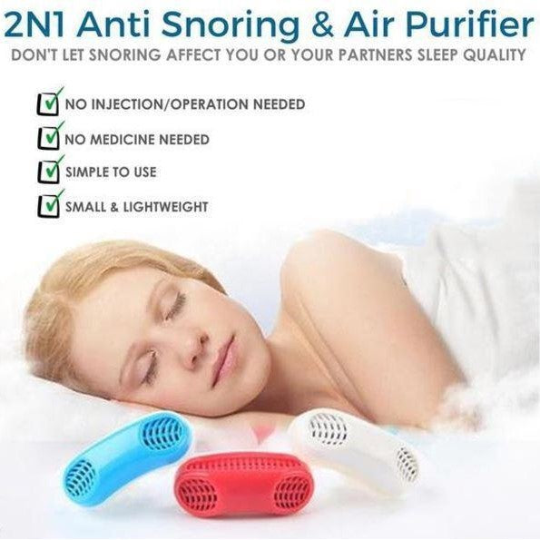 NightSilencer™ Anti-Snore Device - Sleep Aid