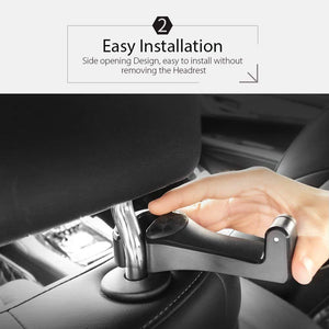 2in1 MULTI-FUNCTIONAL CAR HEADREST HOOK