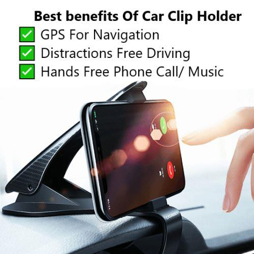 EZClip™ Universal Car Phone Clip Holder
