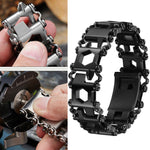 SwissTool™ 29in1 Multi-function Stainless Steel Bracelet