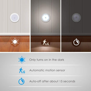 6 LED Motion Sensor Night Light (Set Of 3)