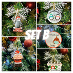 DIY Christmas Ornaments 2020 - Set B