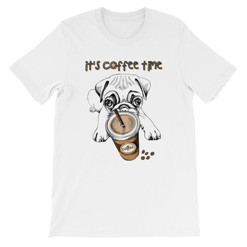 Mops Dog Kaffee-Shirt No.1 ★★★ Premium T-Shirt