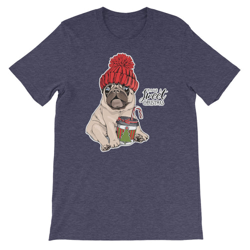 Mops Dog Kaffee-Shirt No.1 🎄 Weihnachts-Edition ★★★ Premium T-Shirt