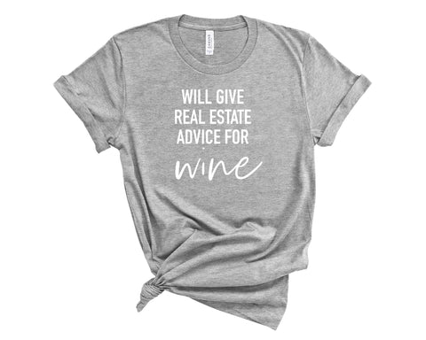 Advice for Wine T-Shirt