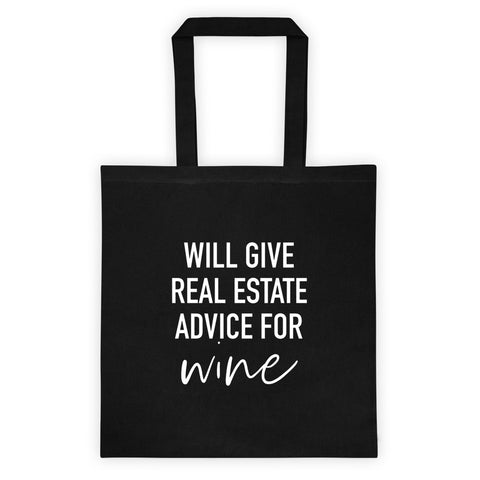 Advice for Wine Tote