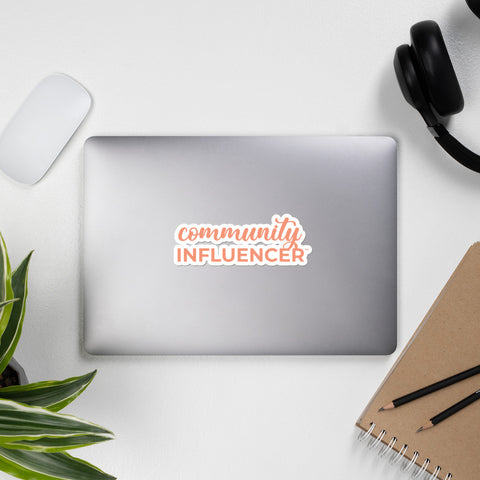 Community Influencer Sticker
