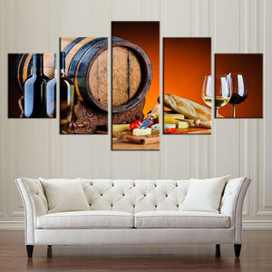 Wine Canvas
