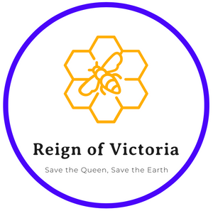 Reign of Victoria RoV Circle Logo Sticker