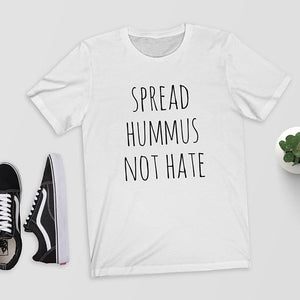 """Spread Hummus Not Hate"" Openness Graphic Tee"