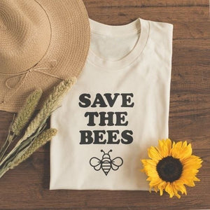 """Save the Bees"" Lovely Graphic Tee"