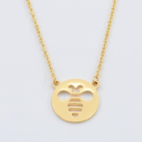 Bumble Bee Stencil Necklace