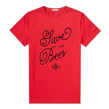 "Load image into Gallery viewer, ""Save The Bees"" Elegant Awareness Tee"