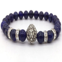Load image into Gallery viewer, King of the Jungle Onyx Black Stone Bracelet