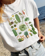 Load image into Gallery viewer, Cacti Gang Cactus Succulent Education Graphic Tee