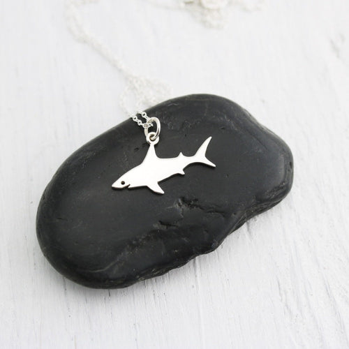 Shark Pendant Ocean Necklace
