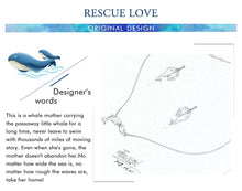 Load image into Gallery viewer, 925 Sterling Silver Endangered Whales Necklace (Artist Limited Release)