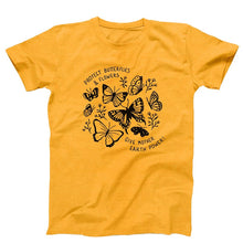 "Load image into Gallery viewer, ""Protect Butterflies & Flowers"" Fields Graphic Tee"