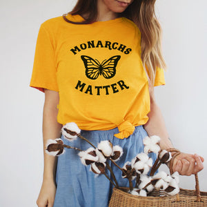 """Monarchs Matter"" Butterfly Advocacy Tee"